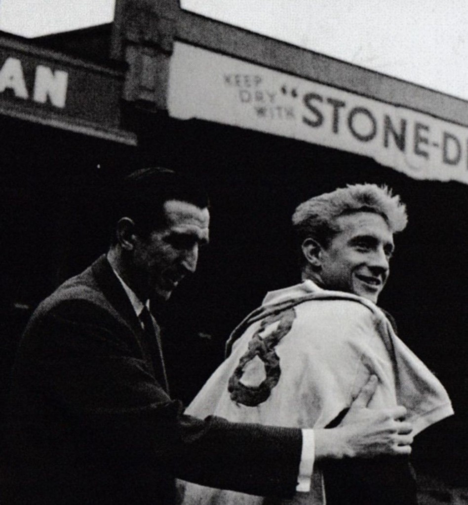 1959 to 60 denis law signs
