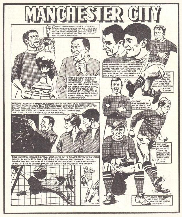1967 to 68 season story ROTR