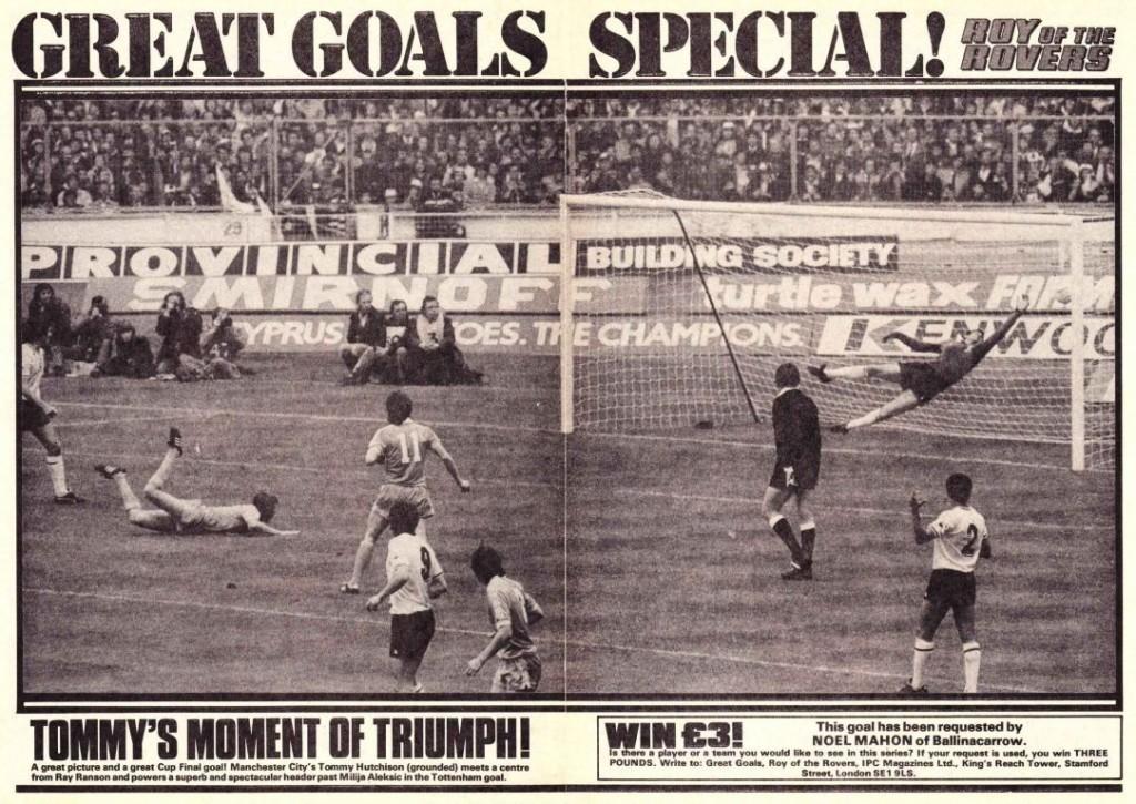 1981 fa cup final hutchison goal ROTR