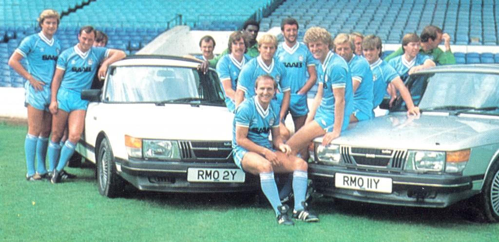 1982 to 83 saab team photo