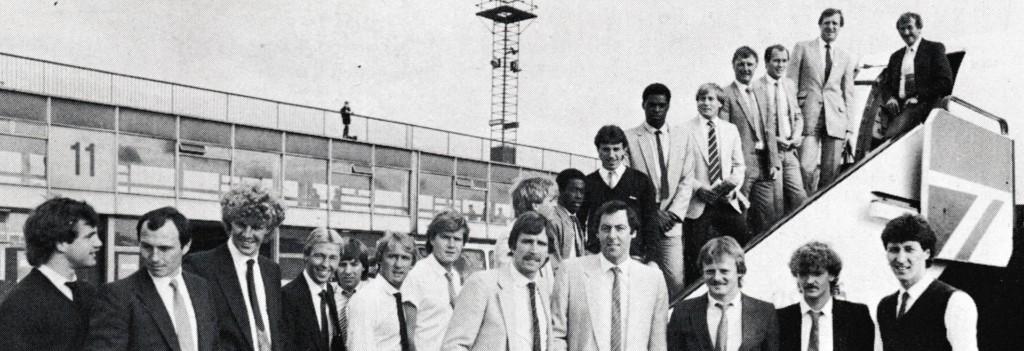 1983 to 84 pre season tour