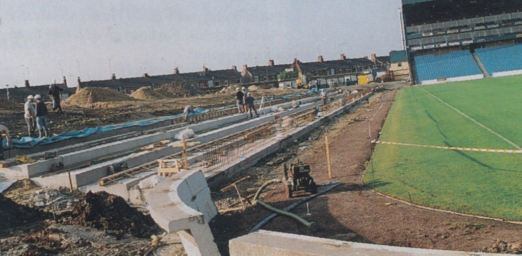 1994 TO 95 KIPPAX knocked down