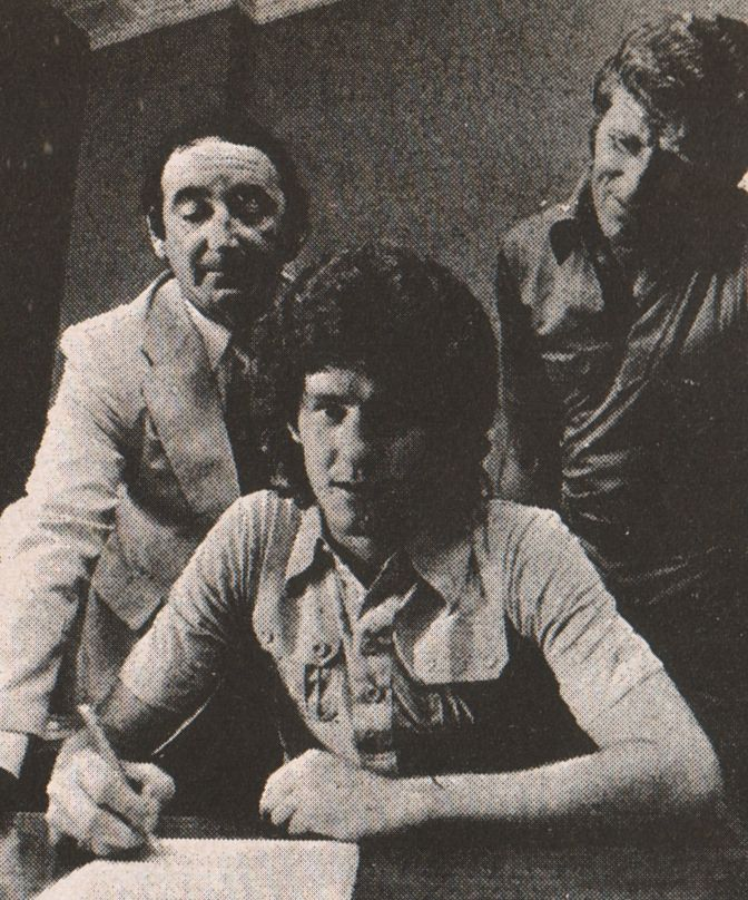 brian kidd signs 1976 to 77