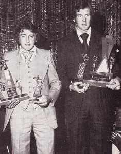 joe corrigam player of year 1975 to 76