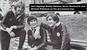 shinton mackenzie robinson pre season tour 79 to 80