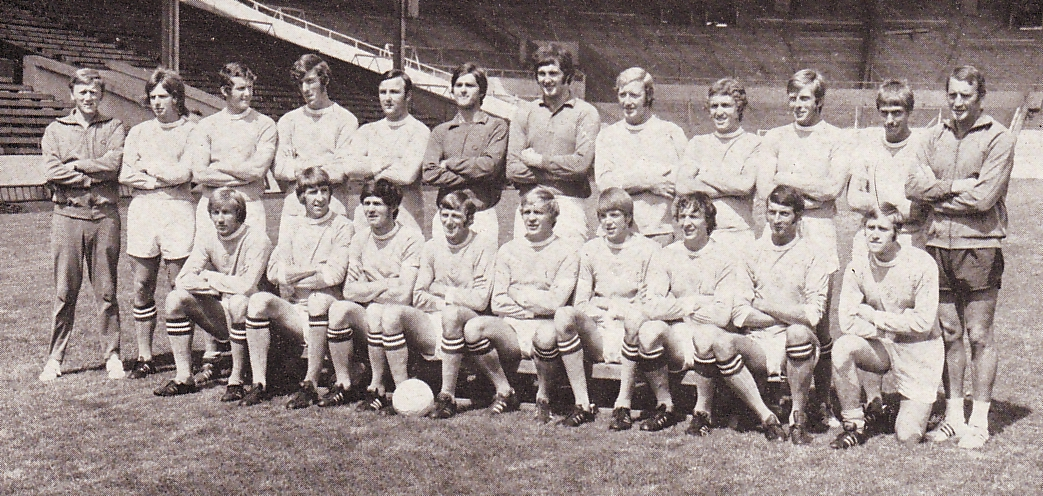 team group 1971 to 72