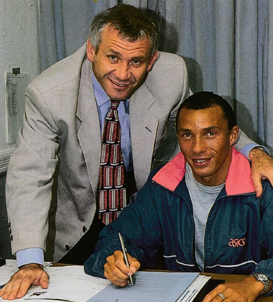 terry phelan signs 1992 to 93