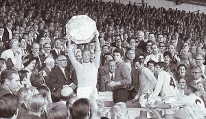 wba charity shield 1968 to 69 trophy
