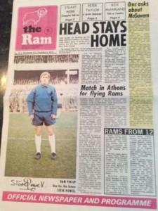 derby away 1971-72 prog