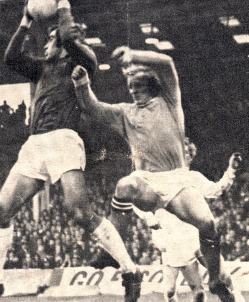 leicester home 1971 to 72 action3