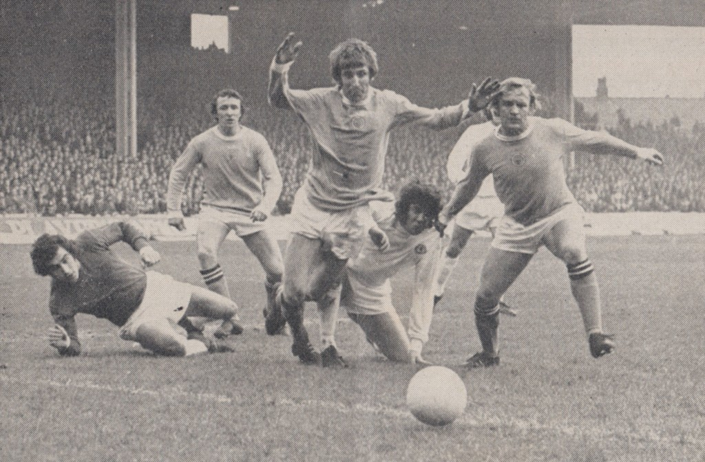 leicester home 1971 to 72 action5