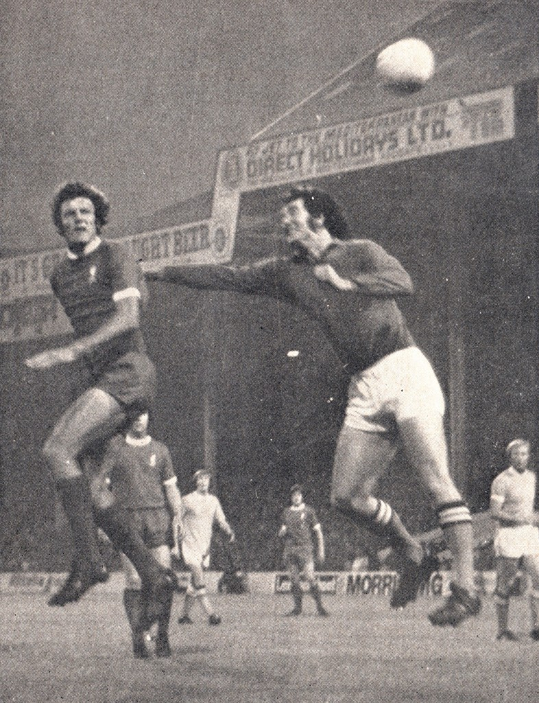 liverpool home 1971 to 72 action 6