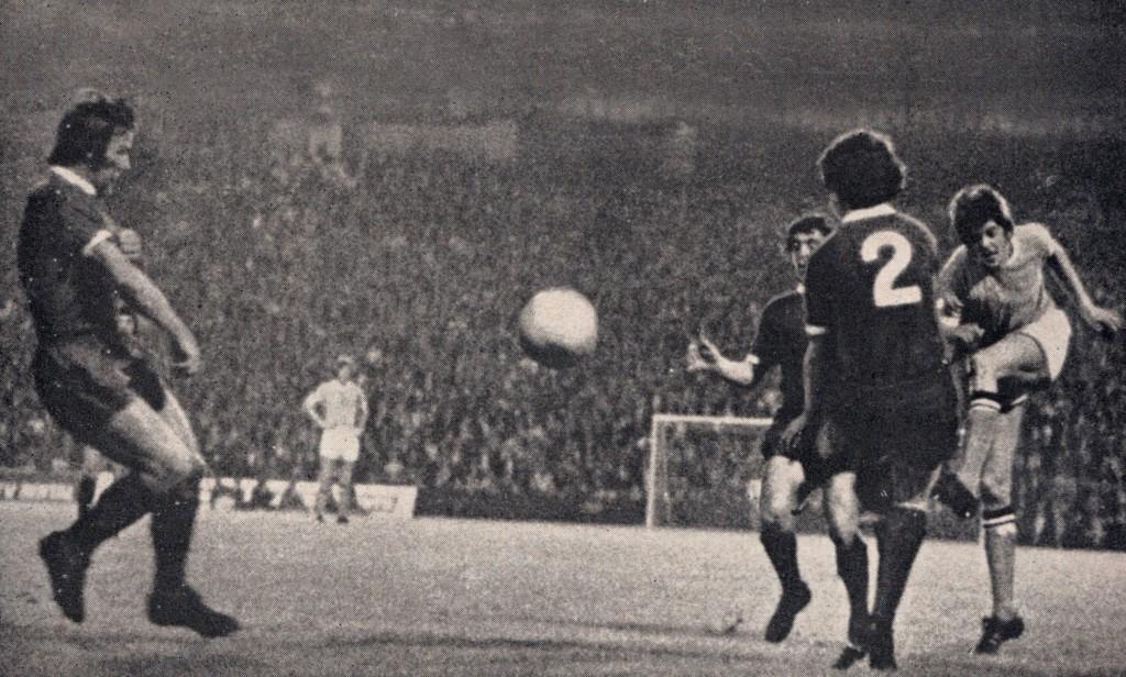 liverpool home 1971 to 72 mellor goal