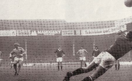 man utd home 1971-72 lee 1st city goal penA