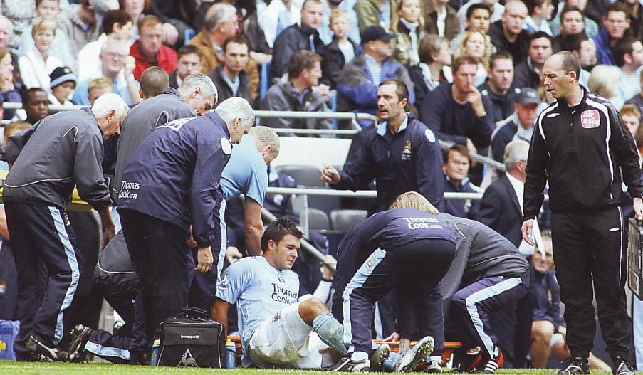 man utd home 2007 to 08 bojinov injury