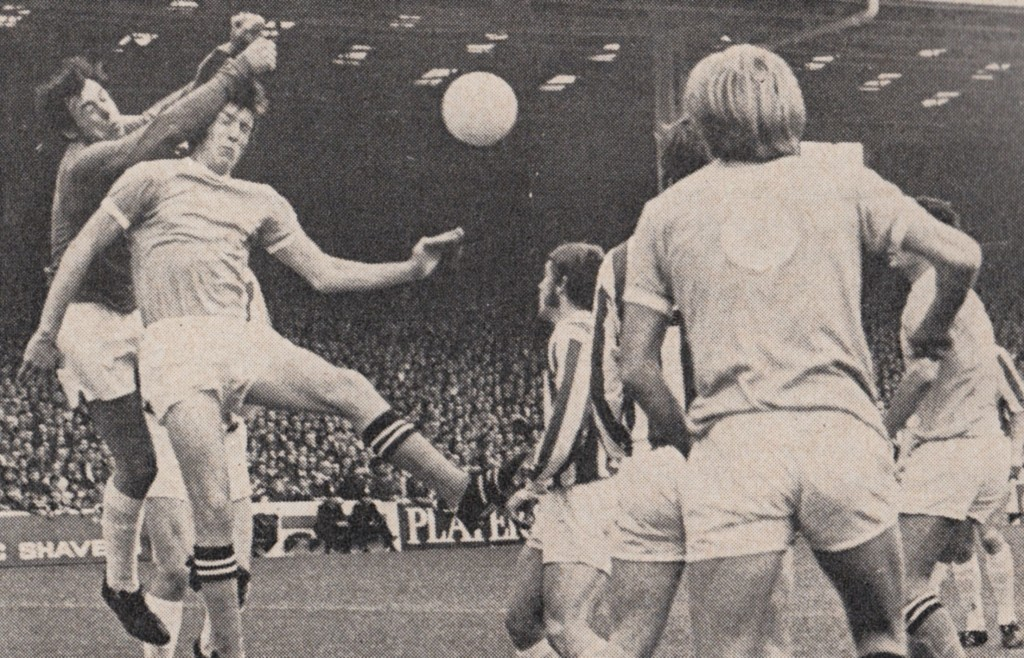 stoke home 1970 to 71 action 10