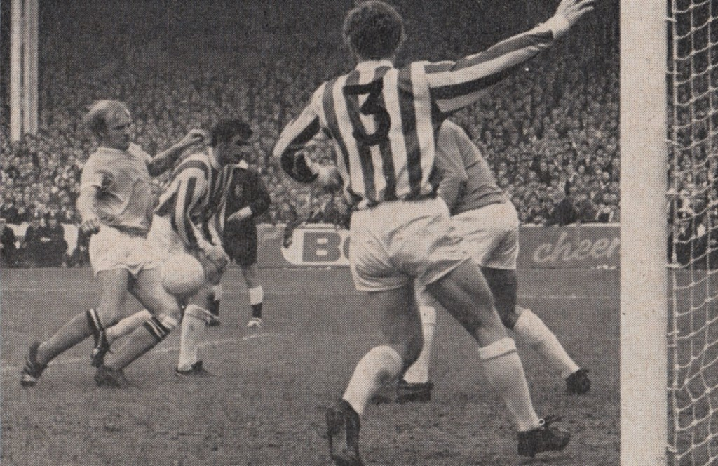 stoke home 1970 to 71 action 12