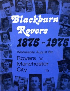 blackburn away anglo scot cup 1975 to 76 prog