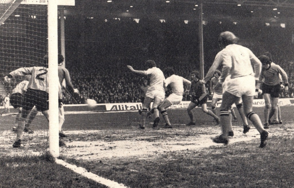 wolves home 1971 to 72 booth goal