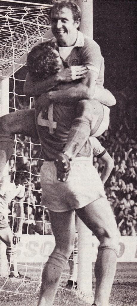 Ipswich home 1975 to 76 goal celeb