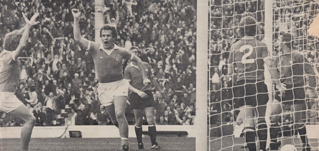 man utd home 1975 to 76 royle goal