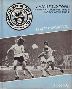 mansfield home league cup 1975 to 76a