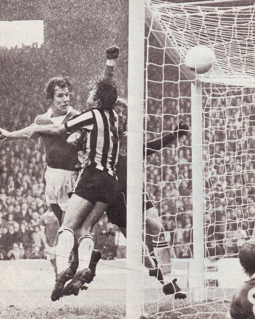 newcastle home 1975 to 76 royle 1st goal