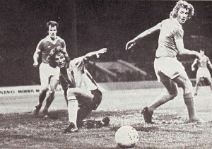 norwich home league cup 1975 to 76 action