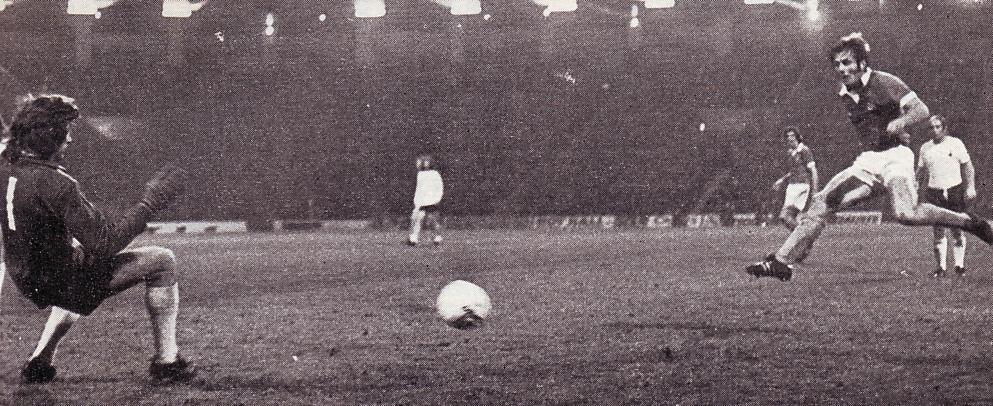 tottenham home 1975 to 76 oakes winning goal