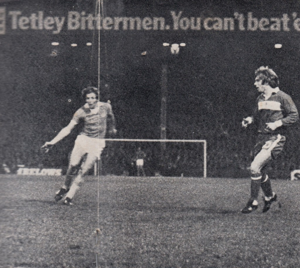 Middlesbrough home league cu 1975 to 76 oakes goal2