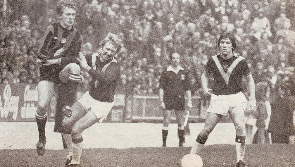 burnley away1975 to 76 action3