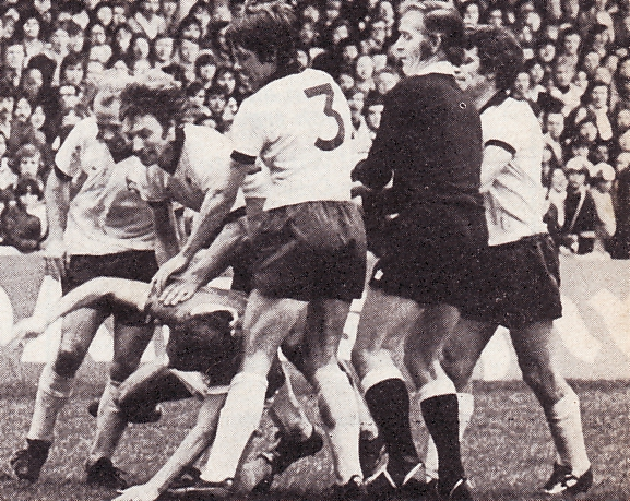 derby home 1975 to 76 fight
