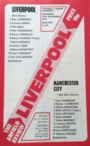 liverpool away 1975 to76 prog
