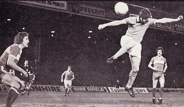 middlesbrough home league cup 1975 to 76 Keegan goal 1