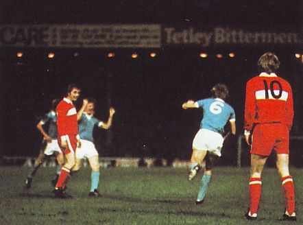 middlesbrough home league cup 1975 to 76 oakes goal