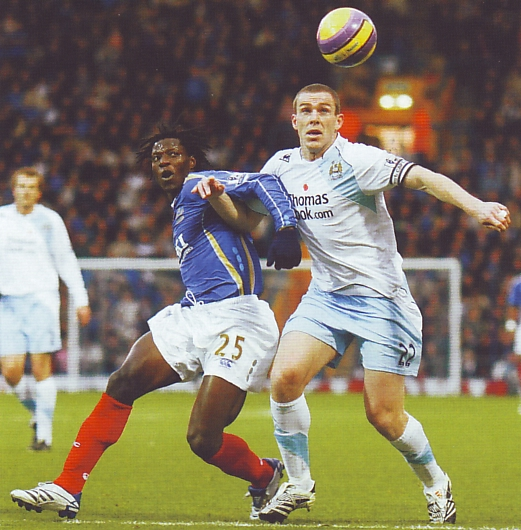 portsmouth away 2007 to 08 action