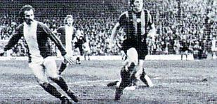 birmingham away 1974 to 75 3rd Birmingham goal