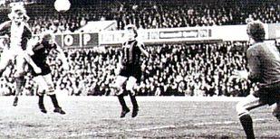 birmingham away 1974 to 75 4th Birmingham goal
