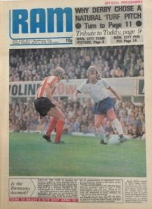 derby away 1974 to 75 prog