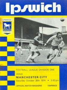 ipswich away 1974 to 75 prog
