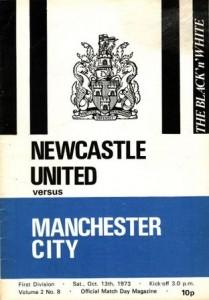 newcastle away 1973 to 74 prog