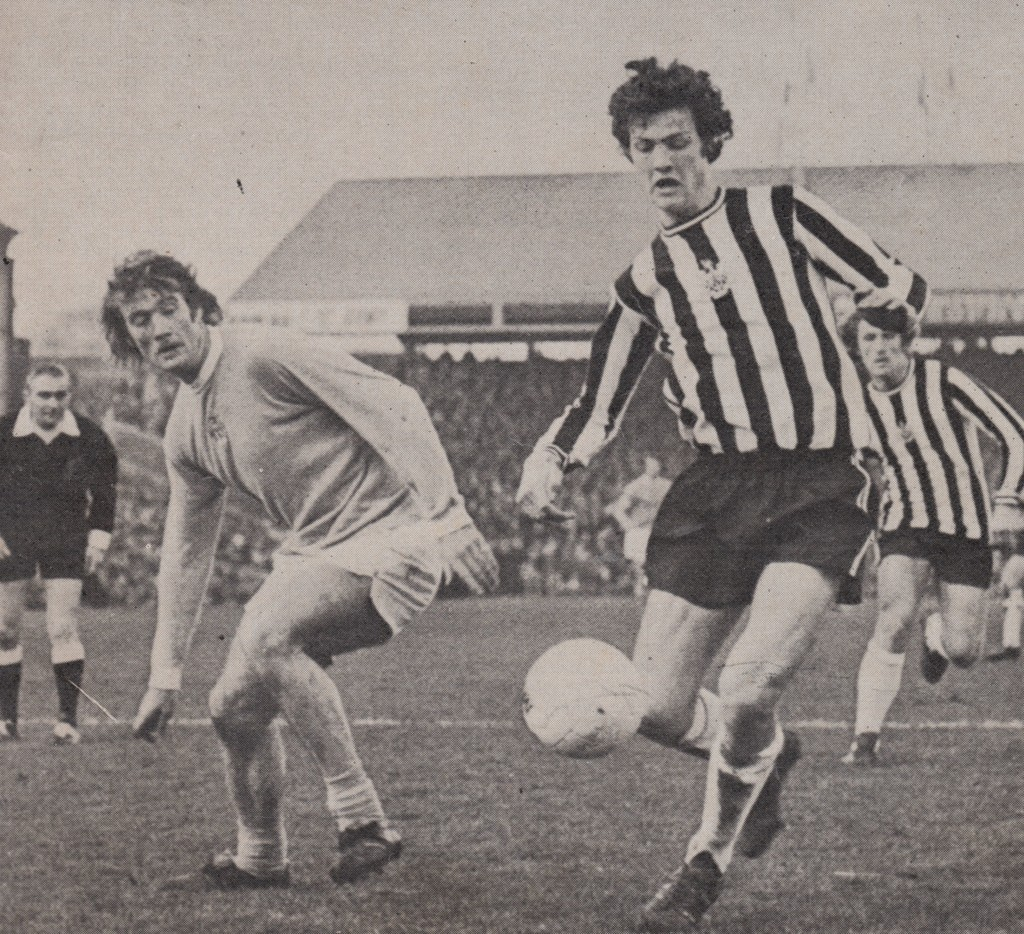 newcastle away 1974 to 75 action 4
