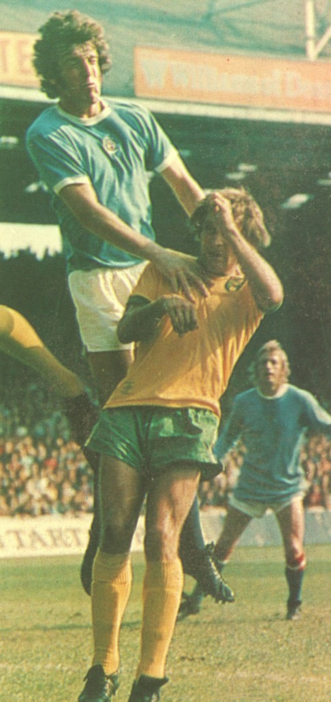 norwich home 1973 to 74 action2