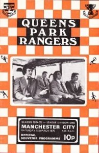 qpr away 1974 to 75 prog