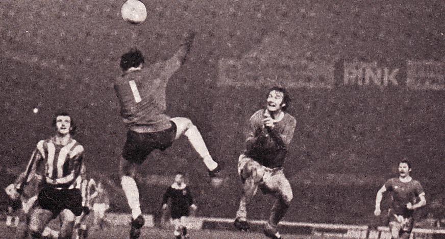 sheff u home 1974 to 75 marsh city 3 goal