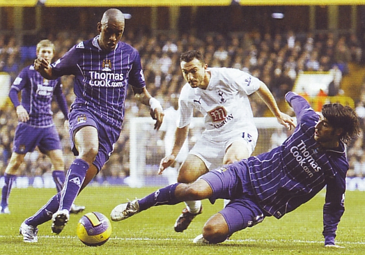tottenham away 2007 to 08 action2