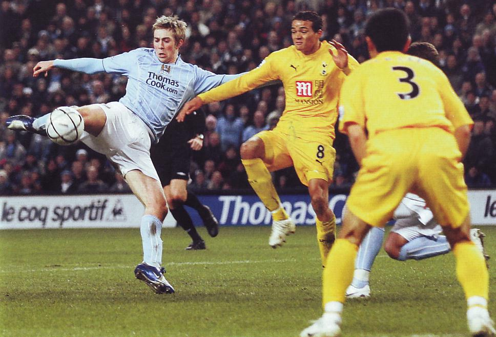 tottenham home carling cup 2007 to 08 action