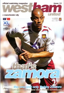 west ham away fa cup 2007 to 08 prog