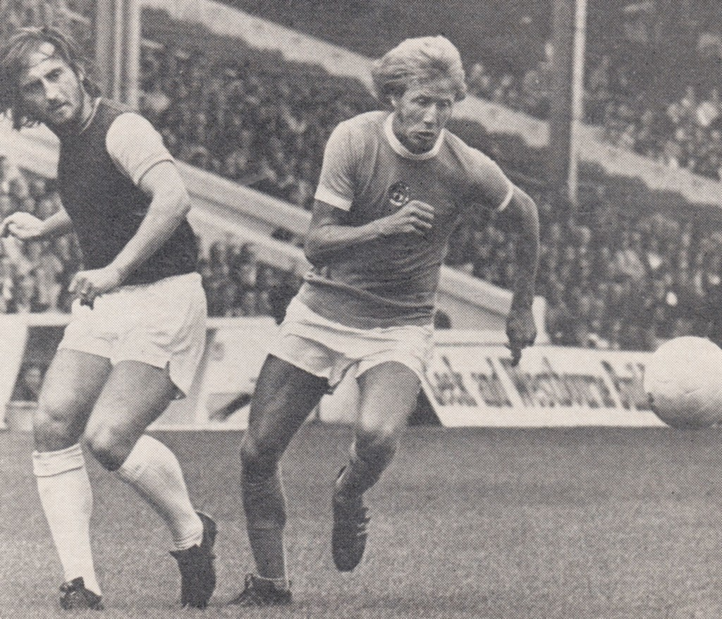 west ham home 1974 to 75 action 2