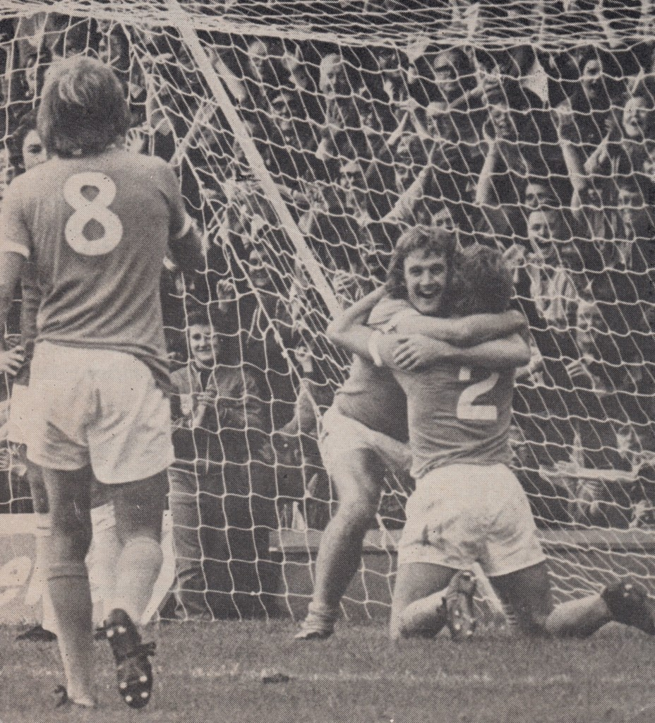 west ham home 1974 to 75 marsh 2 goals